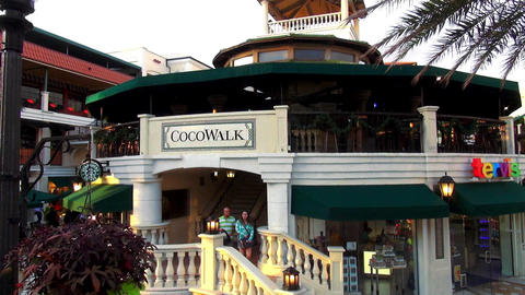 CocoWalk Coconut Grove – MIAMI, FLORIDA/USA OCTOBER 23, 2013 Live Action