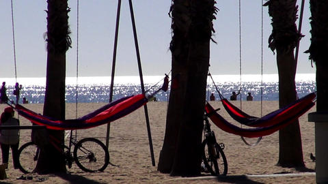 The Beaches of Los Angeles and Santa Monica – LOS ANGELES, CALIFORNIA NOVEMBER Footage