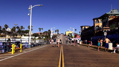 Santa Monica Pier Los Angeles – LOS ANGELES, CALIFORNIA NOVEMBER 8,2012 Footage