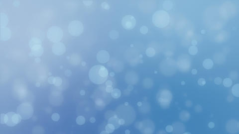 Light blue bokeh lights background Animation