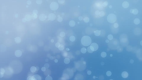 Light blue bokeh lights background Stock Video Footage