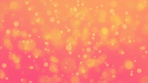 Glowing orange pink bokeh background CG動画素材