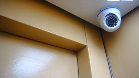 surveillance camera installed in the Elevator Footage