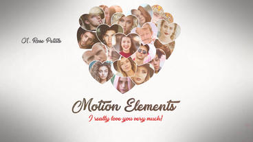 Photo Heart Valentines Premiere Pro Template