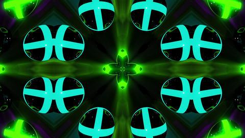 Kaleidospheres VJ Loop 85 stock footage