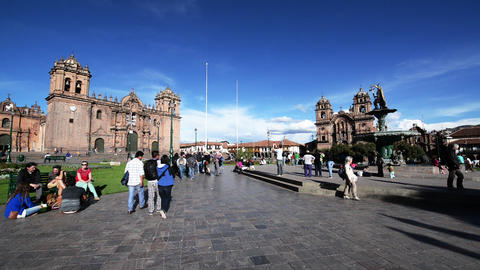 Cuzco Plaza View Footage
