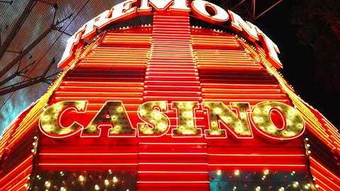 Amazing Freemont casino - LAS VEGAS, NEVADA/USA Live Action