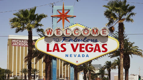 Welcome to fabulous Las Vegas - LAS VEGAS, NEVADA/USA Footage