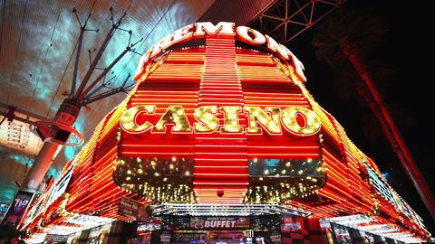 The Freemont Casino - LAS VEGAS, NEVADA/USA Live Action