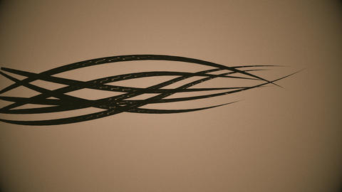 Organic lines 4K Animation