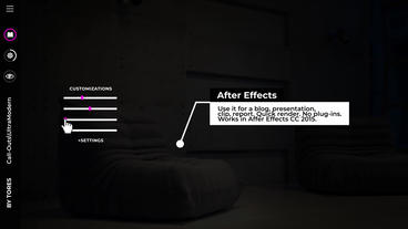 Call Outs Auto-scale After Effects Templates