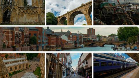 The Yorkshire county, England, United Kingdom 영상물