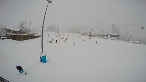 "Caucasian mountains. Ski resort ""Rosa Khutor"". Sochi. Russia 画像"