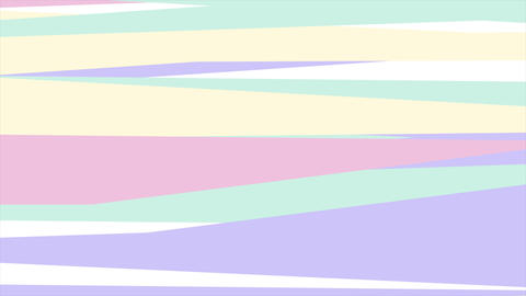 Hipster retro pastel abstract stripes video animation Animation