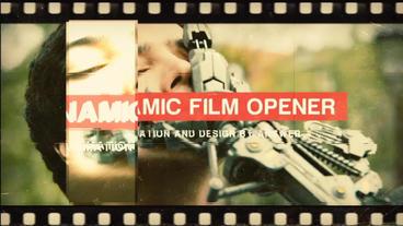Dynamic Film Opener Plantilla de After Effects