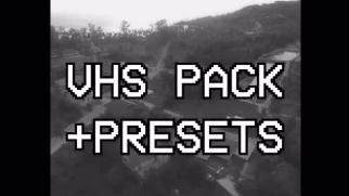 VHS Pack + Presets Premiere Proテンプレート