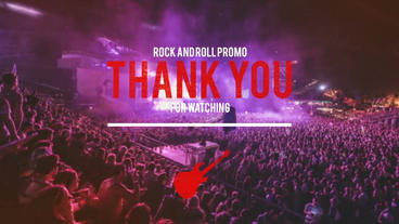 Rock and Roll Promo Plantilla de After Effects