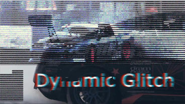 Dynamic Glitch After Effects Template