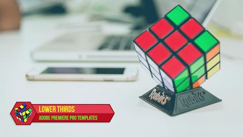 Logo Lower Thirds Premiere Pro Template