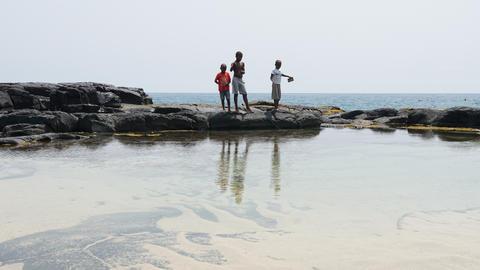 Boca de Inferno, Sao Tome and Principe Foto