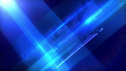 World background blue Animación