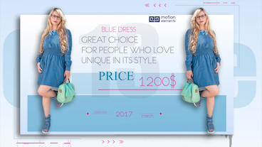 Fashion Collection After Effects Template
