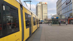 Time Lapse Walk At Famous Alexanderplatz In Berlin, Germany Footage
