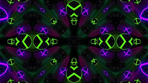 Kaleidospheres VJ Loop 1 CG動画素材