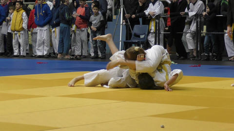 Juniors compete in Judo Live Action