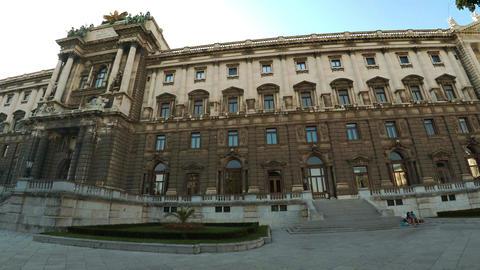 Imperial Palace Hofburg. Vienna. Austria. 4K Footage