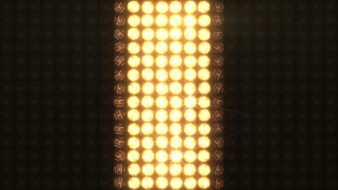 Vertical variants of ignition of a large wall of light Animación