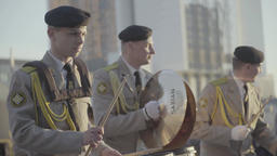 Military Band Performance Footage