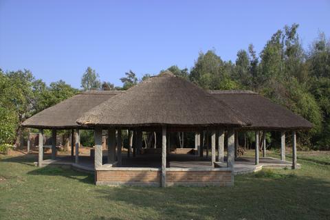 Veranda in the village Fotografía