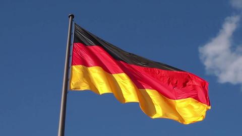 German flag Footage