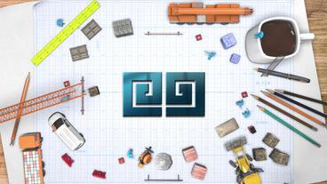 Logo Contruct Premiere Proテンプレート