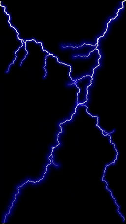 Abstract Electric Lightning Loopable Vertical BG Video Stock Video Footage