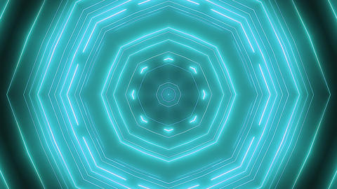 Neon green animation VJ background CG動画