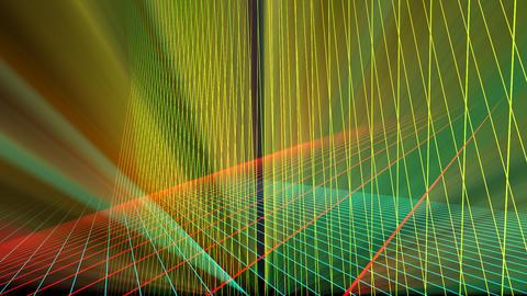 VJ Laser Grid Space Stock Video Footage