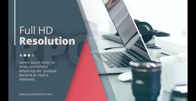 Corporate Presentation Promo 애프터 이펙트 템플릿