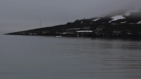 One of northest polar stations on island Hooker Live Action