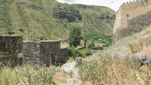 Khertvisi fortress is one of the oldest fortresses in Georgia Live Action