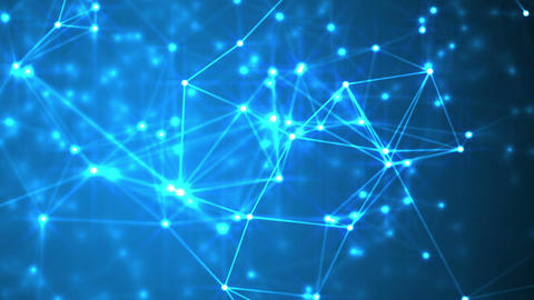 Futuristic technology abstract background Animation