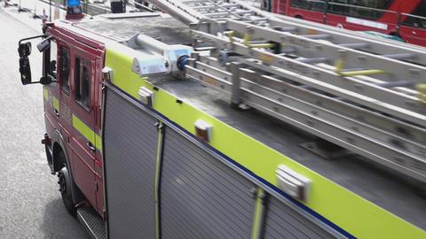 London Fire Brigade - LONDON, ENGLAND Live Action