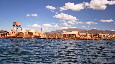 Uros Floating Islands Footage