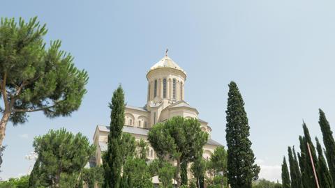 Holy Trinity Cathedral of Tbilisi Tsminda Sameba - Georgia ビデオ