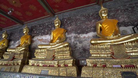 Wat Suthat temple in Bangkok Archivo