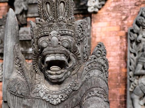 Hindu temple on Bali Fotografía