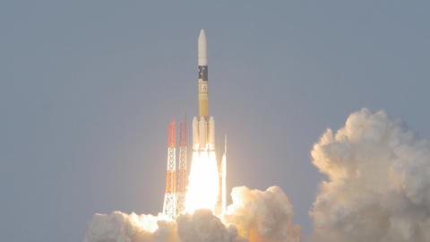 """launch rocket """"H-IIA"""" Japan Footage"""