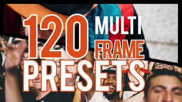 Multiframe Presets Premiere Proテンプレート
