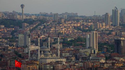 Ankara City Time-lapse Turkey Live Action